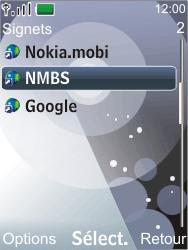 Nokia 7210 supernova - Internet - Navigation sur Internet - Étape 11