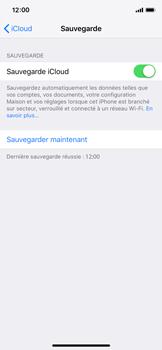 Apple iPhone XS - Données - créer une sauvegarde avec votre compte - Étape 14