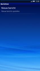 Sony Xperia X10 - MMS - Afbeeldingen verzenden - Stap 3