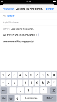 Apple iPhone 7 Plus - E-Mail - E-Mail versenden - 8 / 16