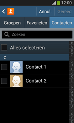 Samsung I8200N Galaxy S III Mini VE - Contacten en data - Contacten overzetten via Bluetooth - Stap 6