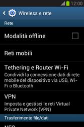 Samsung Galaxy Fame Lite - Internet e roaming dati - Configurazione manuale - Fase 5