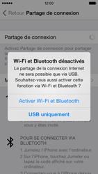 Apple iPhone 5 - Internet et connexion - Utiliser le mode modem par USB - Étape 7