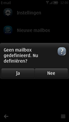 Nokia 700 - E-mail - handmatig instellen - Stap 4