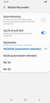 Samsung Galaxy S9 - Android Pie - Netzwerk - Netzwerkeinstellungen ändern - Schritt 7