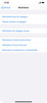 Apple iPhone XS Max - iOS 13 - Appareil - Restauration d