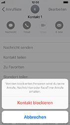 Apple iPhone 5s - Anrufe - Anrufe blockieren - 6 / 8