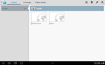Samsung Galaxy Tab 2 10.1 - Internet e roaming dati - Uso di Internet - Fase 7