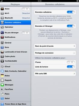 Apple iPad Retina - Internet et roaming de données - Configuration manuelle - Étape 5