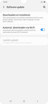Samsung Galaxy A50 - Software update - update installeren zonder PC - Stap 5