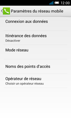 Alcatel One Touch Idol Mini - Internet et roaming de données - Comment vérifier que la connexion des données est activée - Étape 8