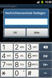 Samsung S5830 Galaxy Ace - SMS - Manuelle Konfiguration - Schritt 5