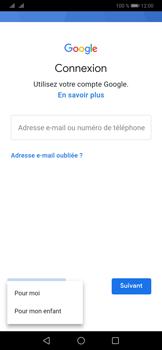 Huawei P30 - Applications - Créer un compte - Étape 5