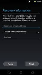 Sony Xperia T - Applications - Setting up the application store - Step 8