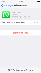 Apple iPhone 5 iOS 10 - Applications - Comment désinstaller une application - Étape 7
