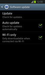 Samsung Galaxy Express - Software - Installing software updates - Step 7
