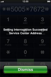 Apple iPhone 4 - SMS - Manual configuration - Step 5
