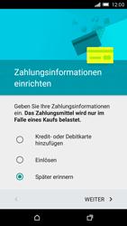 HTC One M9 - Apps - Konto anlegen und einrichten - Schritt 14