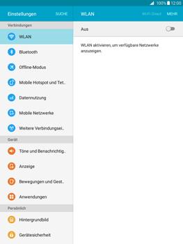 Samsung T555 Galaxy Tab A 9.7 - WLAN - Manuelle Konfiguration - Schritt 4
