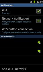 Samsung Galaxy S Advance - WiFi - WiFi configuration - Step 7
