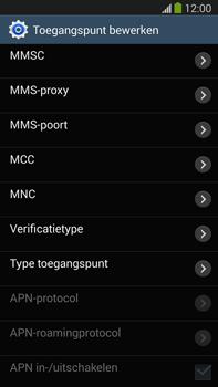 Samsung N9005 Galaxy Note III LTE - Internet - Handmatig instellen - Stap 10