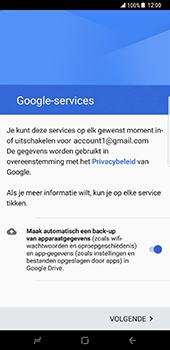 Samsung Galaxy S8 Plus - E-mail - Handmatig instellen (gmail) - Stap 14