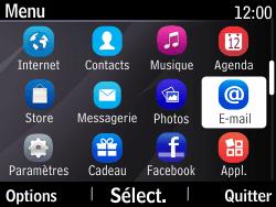 Nokia Asha 210 - E-mail - Envoi d