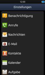Samsung Wave 3 - SMS - Manuelle Konfiguration - 4 / 9