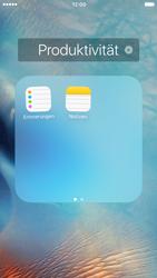 Apple iPhone 6 iOS 9 - Startanleitung - Personalisieren der Startseite - Schritt 5