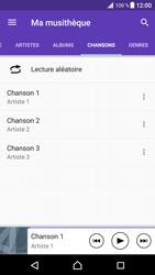 Sony Xperia XZ Premium - Photos, vidéos, musique - Ecouter de la musique - Étape 7
