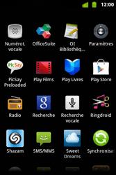 Alcatel OT-983 - Internet et roaming de données - Désactivation du roaming de données - Étape 3