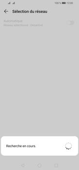 Huawei P30 Lite - Réseau - Sélection manuelle du réseau - Étape 8