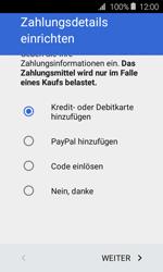 Samsung Galaxy Xcover 3 VE - Apps - Konto anlegen und einrichten - 18 / 22