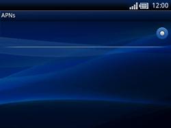 Sony Ericsson Xperia X10 Mini Pro - MMS - Manuelle Konfiguration - Schritt 8
