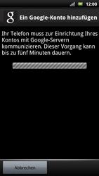 Sony Ericsson Xperia X10 - Apps - Konto anlegen und einrichten - Schritt 8