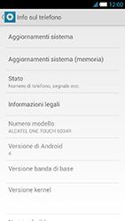 Alcatel One Touch Idol S - Software - Installazione degli aggiornamenti software - Fase 5