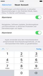 Apple iPhone 7 - Apps - Konto anlegen und einrichten - Schritt 16