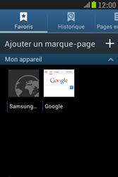 Samsung S6310 Galaxy Young - Internet - Navigation sur Internet - Étape 9