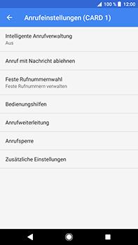 Sony Xperia XZ2 Premium - Anrufe - Rufumleitungen setzen und löschen - Schritt 8