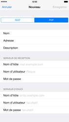 Apple iPhone 6 Plus iOS 8 - E-mail - configuration manuelle - Étape 15