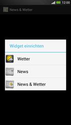 HTC One - Startanleitung - Installieren von Widgets und Apps auf der Startseite - Schritt 6