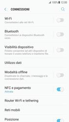 Samsung Galaxy S7 - Android N - Internet e roaming dati - Come verificare se la connessione dati è abilitata - Fase 5