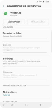 Samsung Galaxy S9 Plus - Applications - Comment désinstaller une application - Étape 6