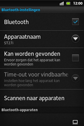 Sony ST27i Xperia Go - bluetooth - aanzetten - stap 7