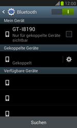 Samsung I8190 Galaxy S3 Mini - Bluetooth - Geräte koppeln - Schritt 10