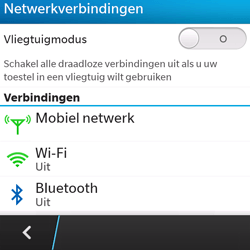 BlackBerry Q5 - bluetooth - aanzetten - stap 5