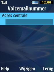 Samsung B2710 Xcover 271 - Voicemail - Handmatig instellen - Stap 7