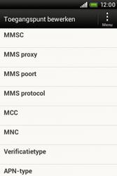 HTC A320e Desire C - MMS - Handmatig instellen - Stap 9