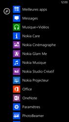 Nokia Lumia 1320 - Réseau - Sélection manuelle du réseau - Étape 3