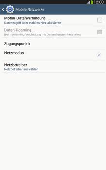 Samsung Galaxy Tab 3 8-0 LTE - Internet und Datenroaming - Prüfen, ob Datenkonnektivität aktiviert ist - Schritt 6